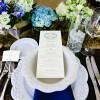 Rustic Farm Wedding Menu Card