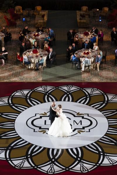 Lauren and Michael – Dance Floor Mon Amie Events, Inc (Photo by NEP)