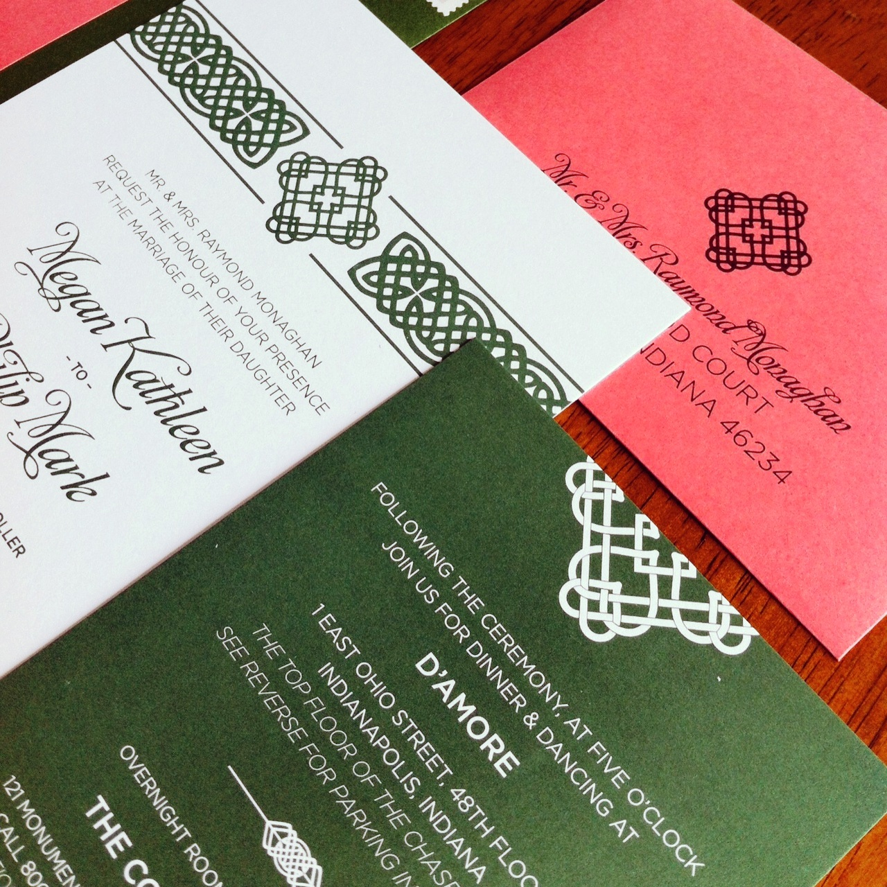 Wedding Invitations | Mon Amie Events Inc. | Indianapolis Weddings ...