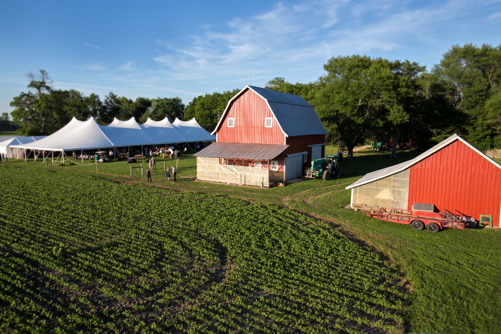 Fisher Farm overhead Photo
