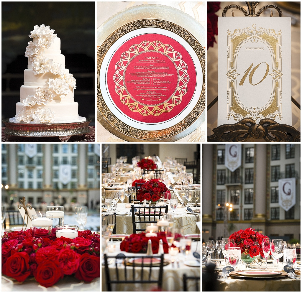 West Baden Wedding Details