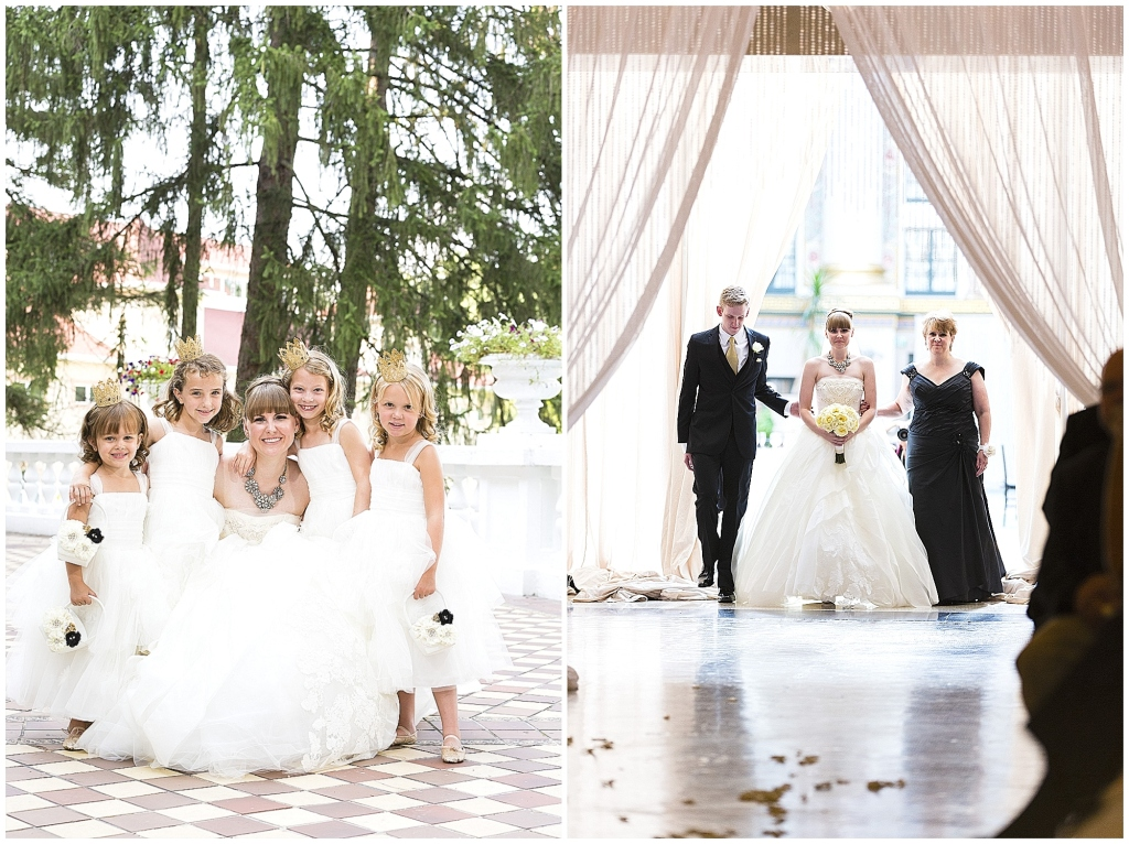 Flower Girls and Ceremony Aisle