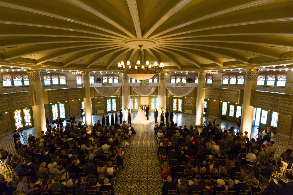 West Baden Wedding Ceremony