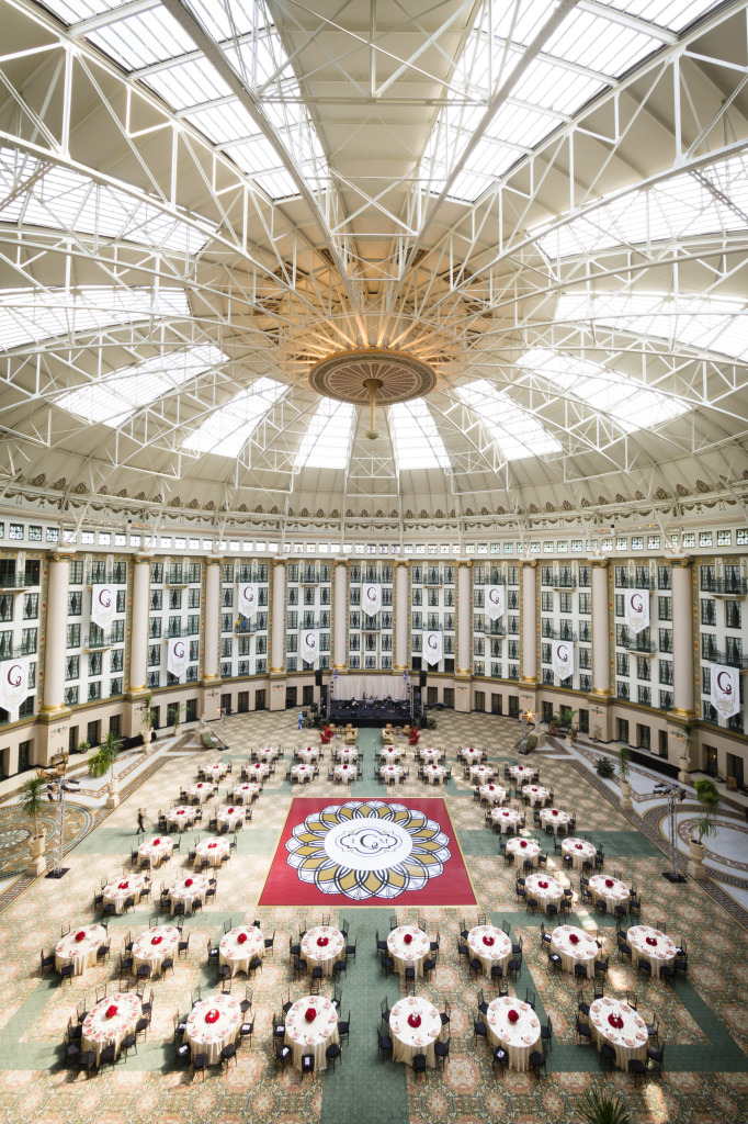 West Baden Wedding Atrium