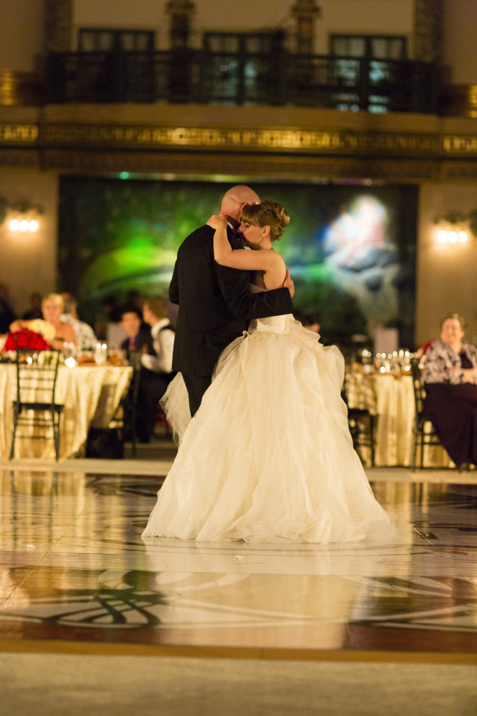 Lauren and Michael West Baden Dancing
