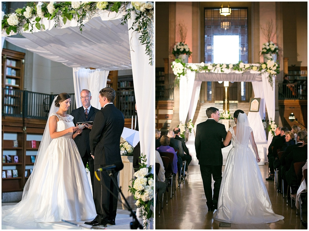 Central Library Wedding Ceremony