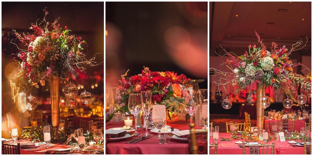 Fall Wedding Detail Flowers