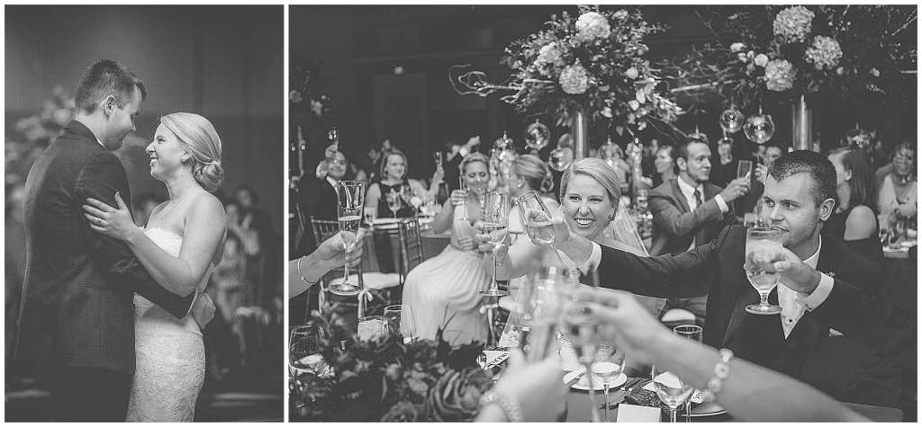first dance and toast