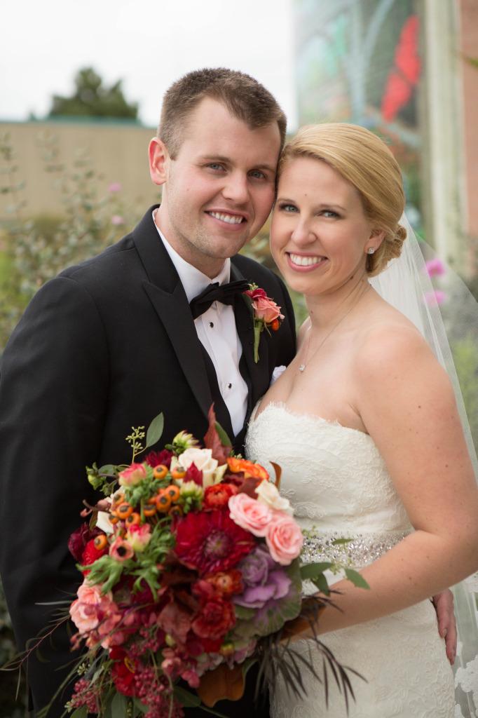 Fall Bridal Couple