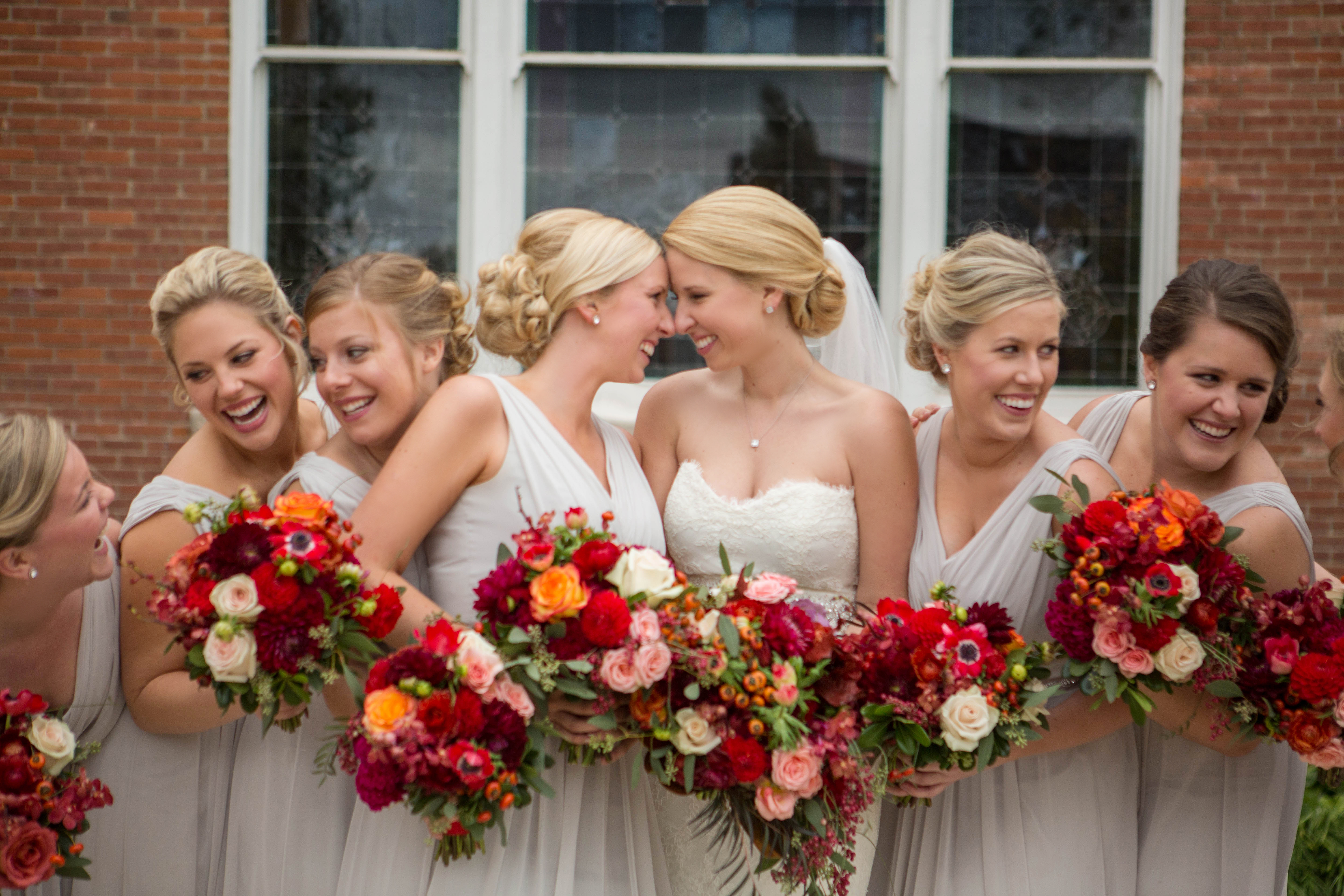 Wedding highlight grace and graham mon amie events inc bridal party ombrellifo Images