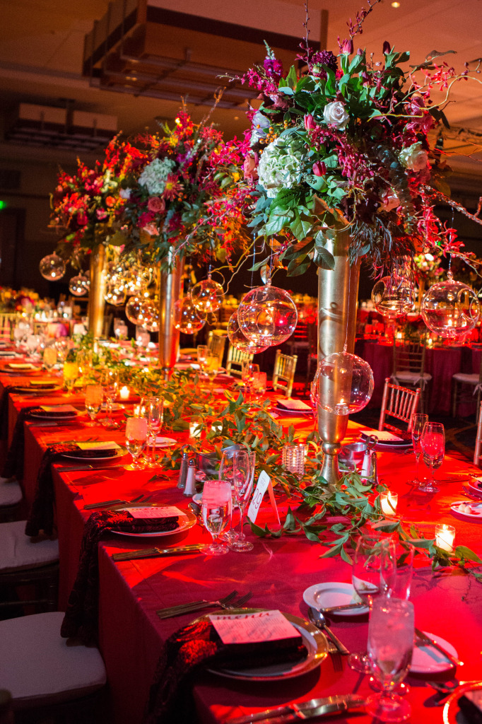 Large fall centerpieces