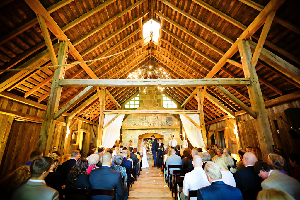 ceremony locations - barn
