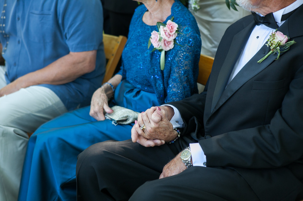 Grandparents in love