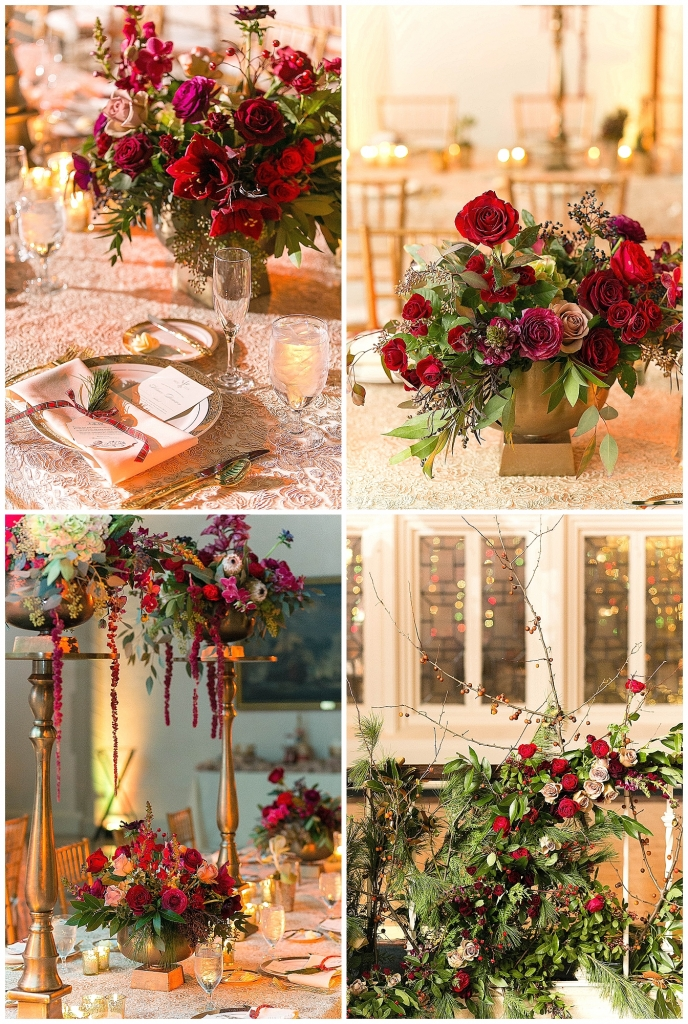 Maggie and Andrew Floral Details