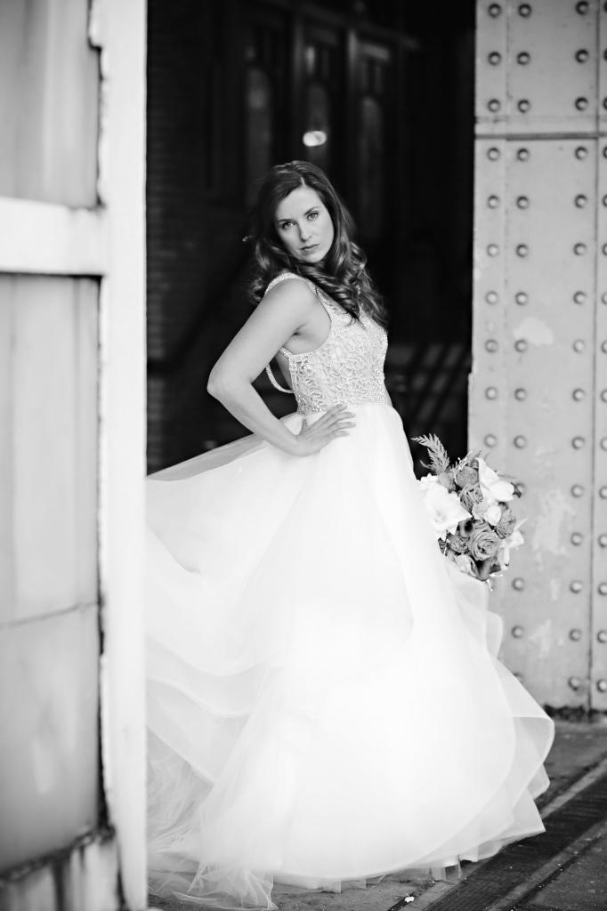 Hayley Page Dori Wedding Gown Bride