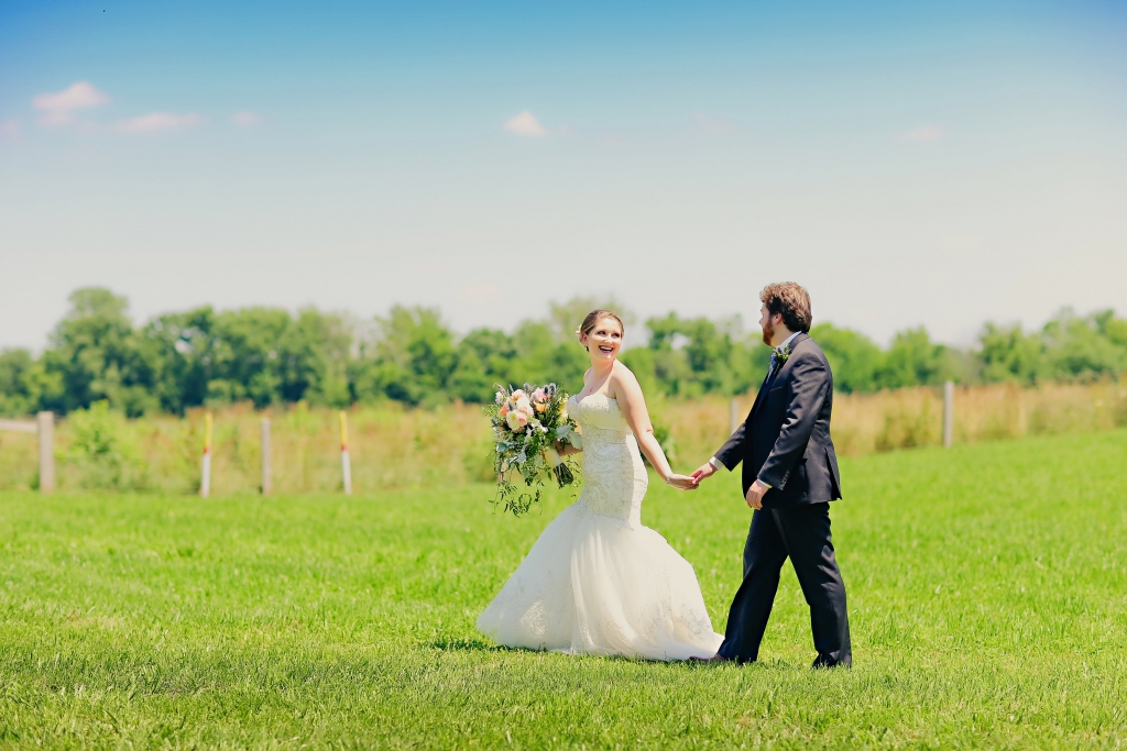 Nikki and Weston Farm Wedding