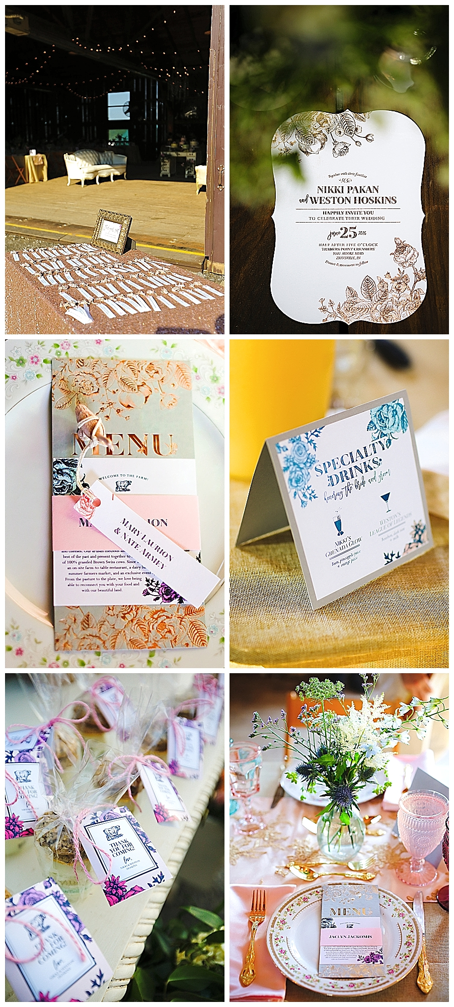 Paperie Farm Wedding