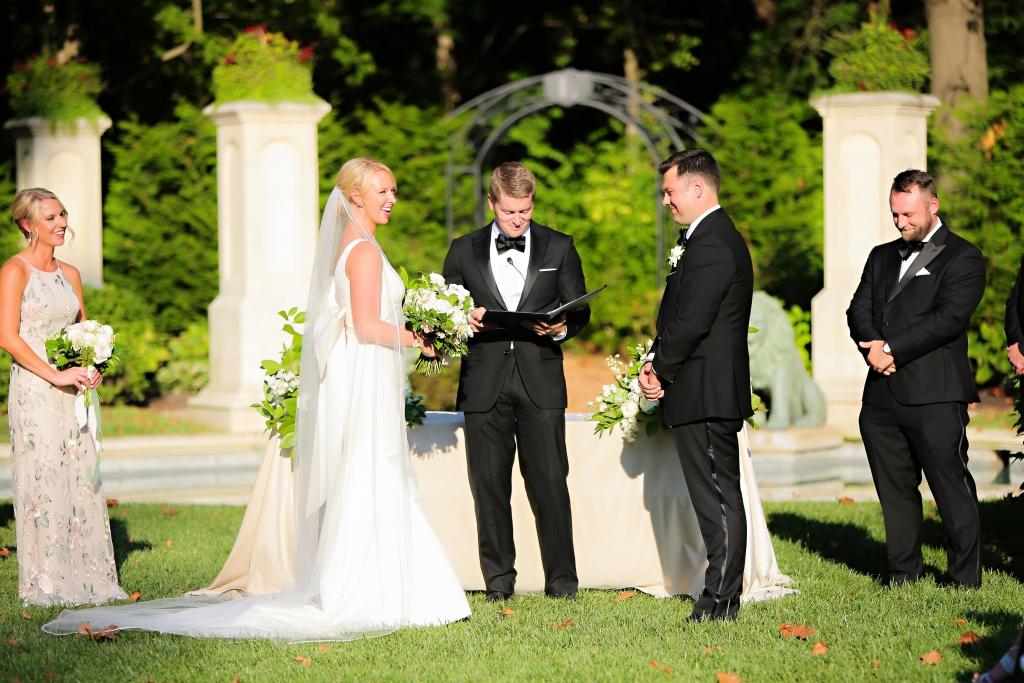 Chelsea salmon wedding